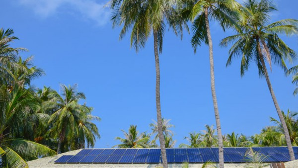 Islands do not have space for solar panels. Invest in SolarSea- a floating solar solution.